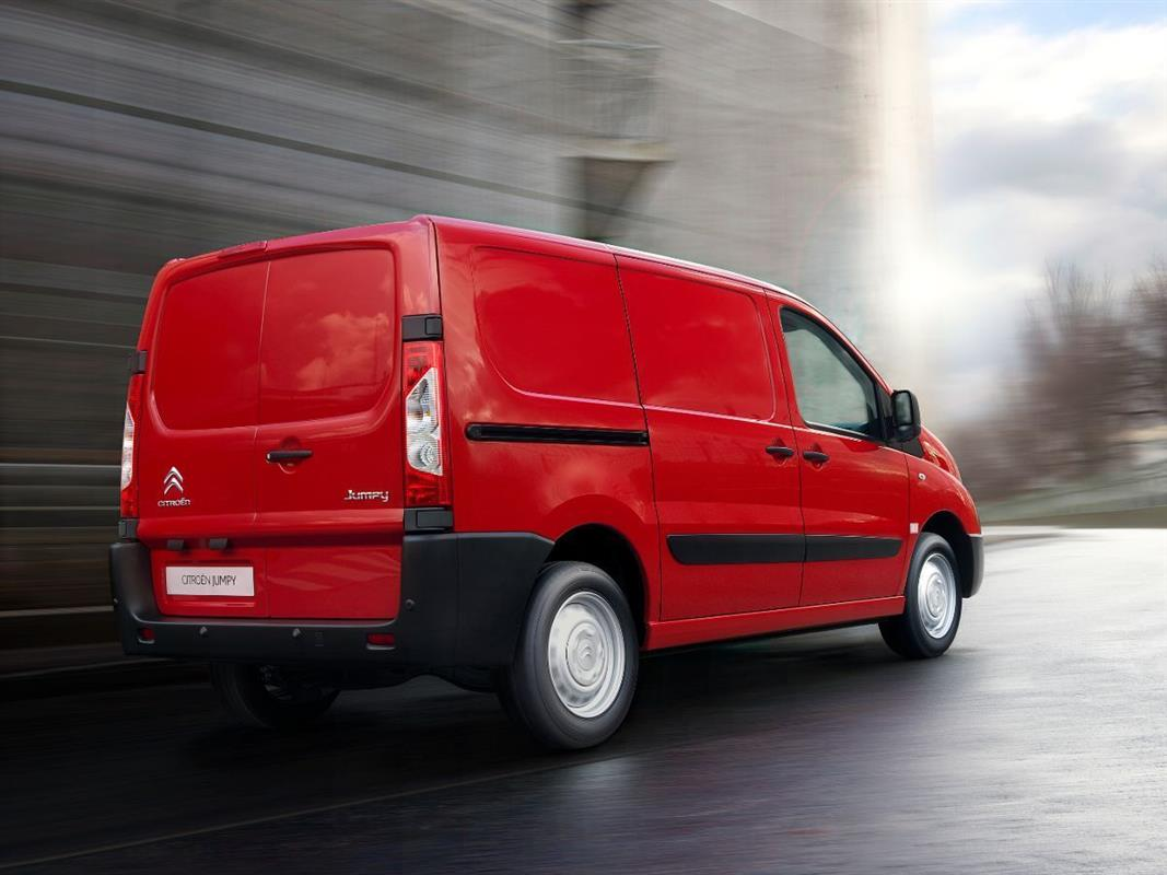 Citroen Berlingo Jumpy vermelha