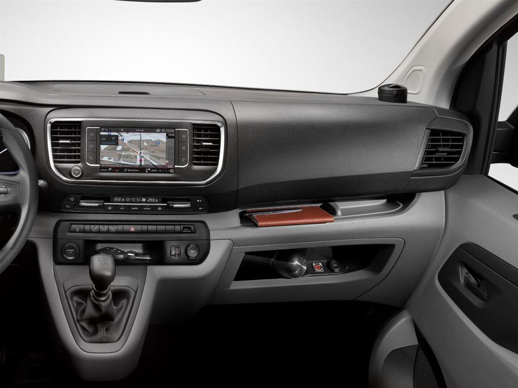 Interior de Citroen Jumpy