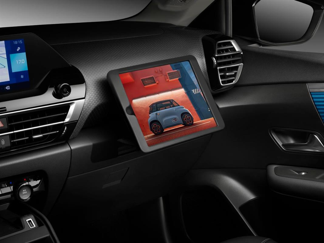 smart pad support do novo citroen c4